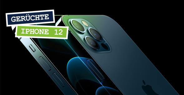 Das iPhone 12 Pro in der Nahansicht.
