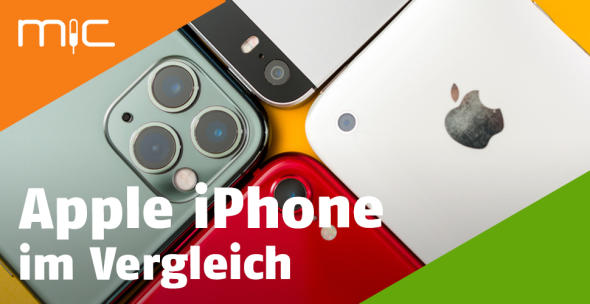Vier iPhone-Modelle