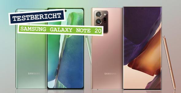 Das neue Samsung Galaxy Note 20 und Galaxy Note 20 Ultra.