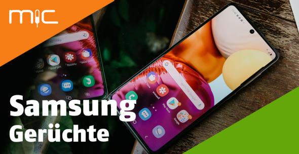Samsung-Handys auf einem Tisch