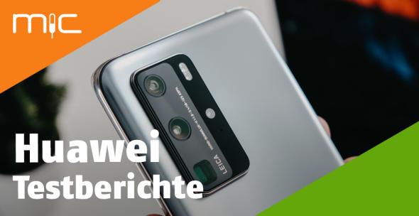 Die Rückseite des Huawei P40 Pro.