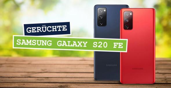Das Samsung Galaxy S20 FE steht bald in den Regalen.
