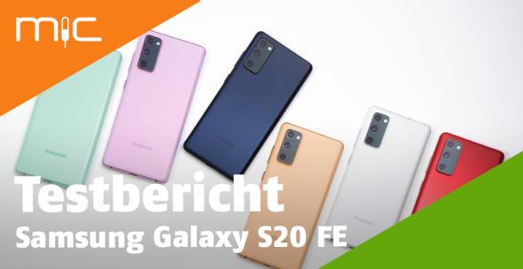 Das Samsung Galaxy S20 in allen Farbvarianten.