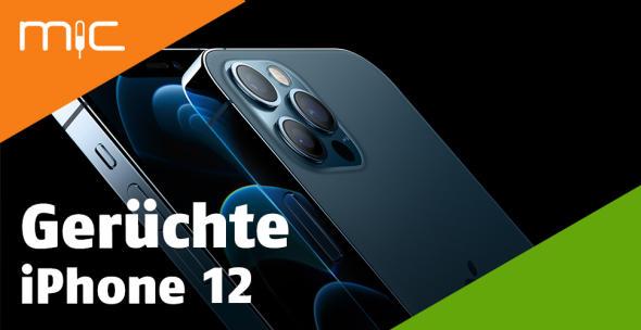 Das iPhone 12 Pro Nahansicht vorne und hinten.