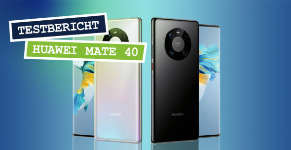 Das Huawei Mate 40 Pro in Silber und Schwarz.