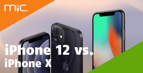 iPhone 12 und iPhone X
