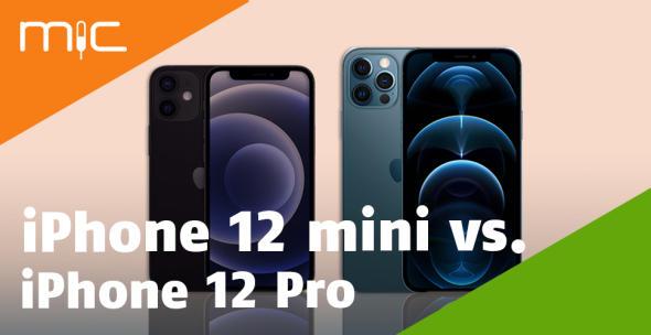 iPhone 12 mini und iPhone 12 Pro