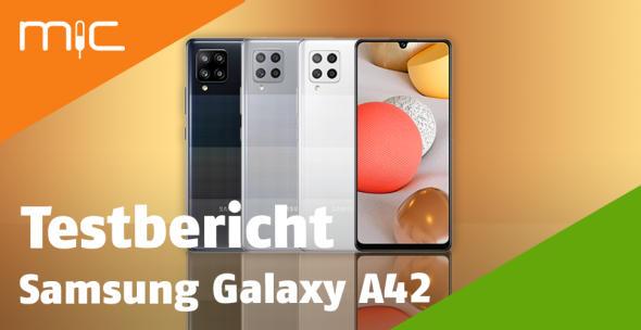 Das Samsung Galaxy A42 in allen Farbvarianten.