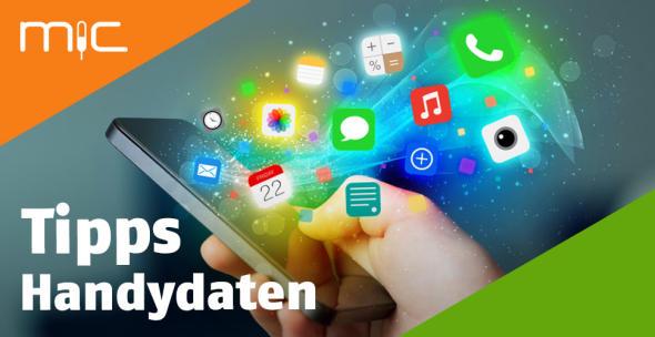 Apps auf einem Handy