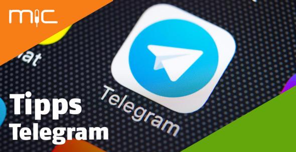 Das App-Icon von Telegram.