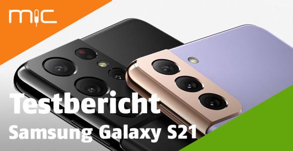 Rückansicht des Samsung Galaxy S21