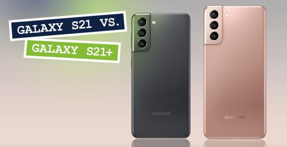 Das Samsung Galaxy S21 und das Galaxy S21+
