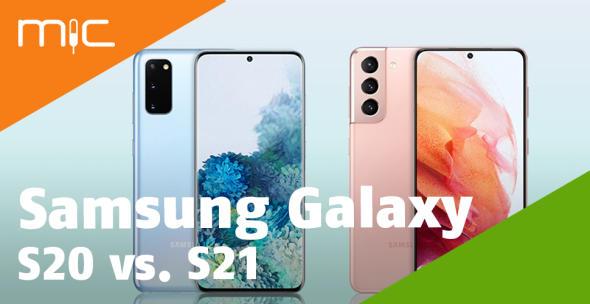 Das Samsung Galaxy S20 und das Samsung Galaxy S21