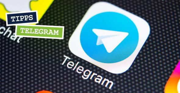 Das Icon der Messenger-App Telegram