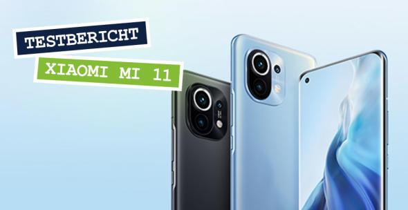 Das Xiaomi 11 von vorne und hinten