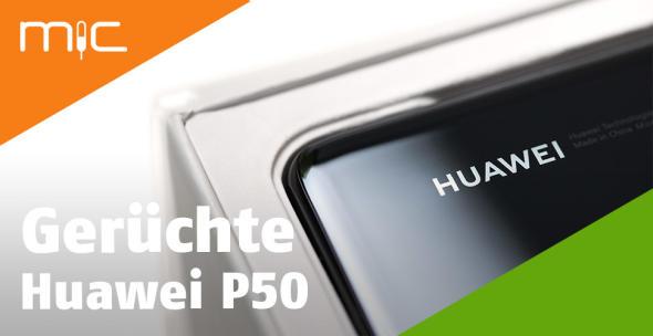 Die Box eines Huawei-Smartphones