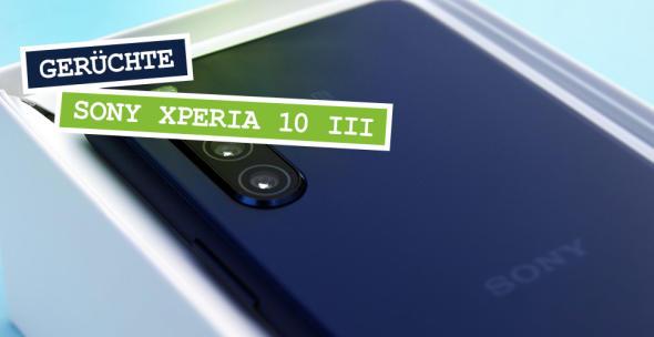 Ein neues Sony-Smartphone in der Verpackung.