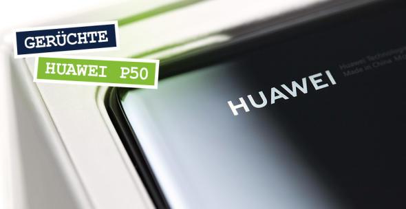 Die Box eines Huawei-Handys