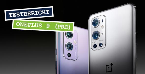 Das OnePlus 9 Pro in der Rückansicht