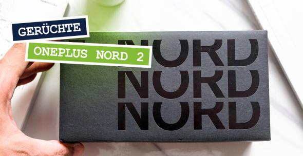 Die Verpackung eines OnePlus-Nord-Handys