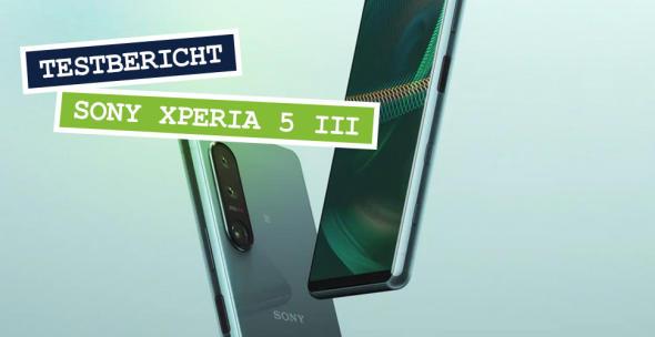 Das Sony Xperia 5 III in Vorder- und Rückansicht