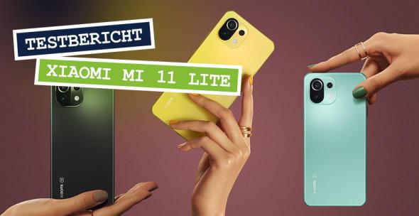 Xiaomi Mi 11 Lite in drei Farben