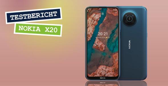 Vorder- und Rückseite des Nokia X20