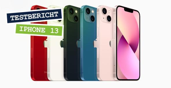 Das neue iPhone 13 in verschiedenen Farbdesigns